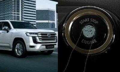 2022 Toyota Land Cruiser 300 Has Fingerprint Identification Engine Start Button - autojosh