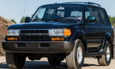Mint 27-Year-Old Toyota Land Cruiser SUV Sells For $136,000, Price Of New Mercedes G-Class - autojosh