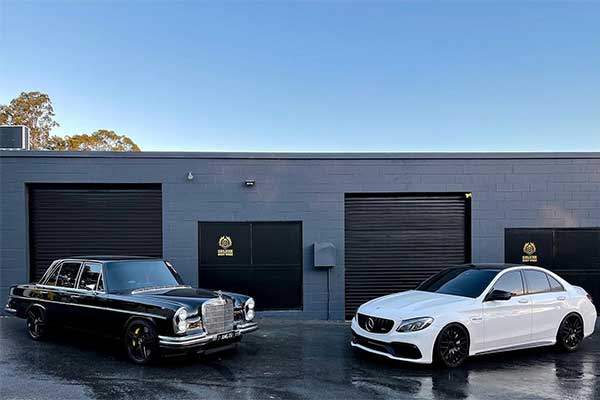 This 1968 Mercedes-Benz 280 SEL Has A 2019 C63s Engine, And Interior