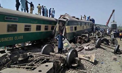 At Least 38 Dead After Two Express Trains Collided In Pakistan - autojosh