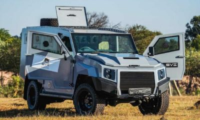 This South African-made Toyota Land Cruiser Takes Bullets And Climbs Land Mines Like A Pro - autojosh