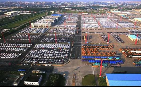 Shanghai's Biggest Port Rolls Out 5,000 Cars Daily And 1.5 Million Yearly For Shipping - autojosh