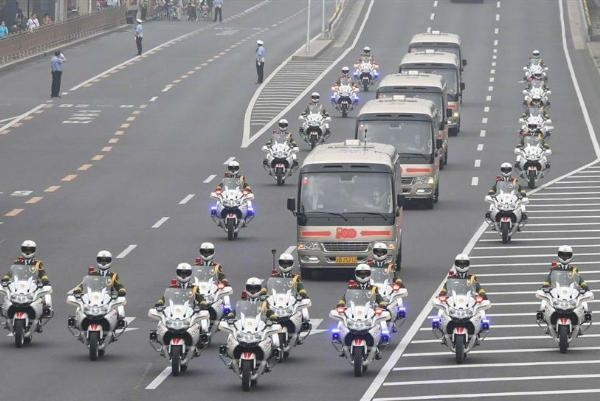 Ahead Of 100th Anniversary, Check Out The Motorcade Carrying Recipients Of China's Highest Honor - autojosh