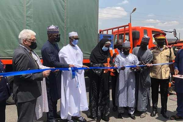 Japan Donates 9 Rescue Vehicles With Rescue Equipment, 4 Mobile Water Purifier Systems To Nigeria (PHOTOS)