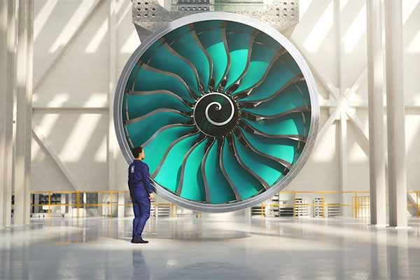 Roll Royce To Release World's Largest Aircraft Engine (PHOTO)