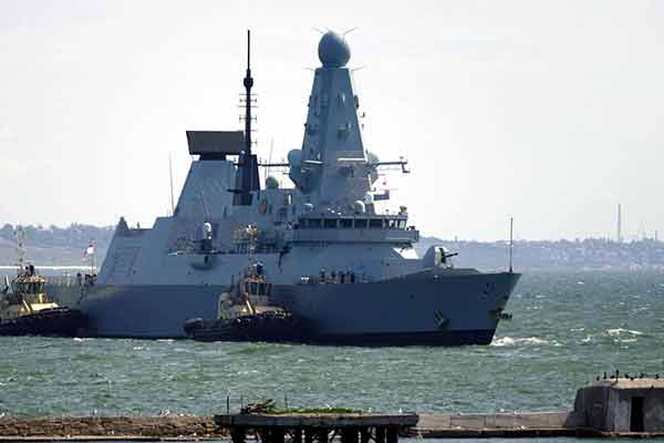 Russia Fires Warning Shots At British Warship To Chase It Out Of Its Waters - autojosh