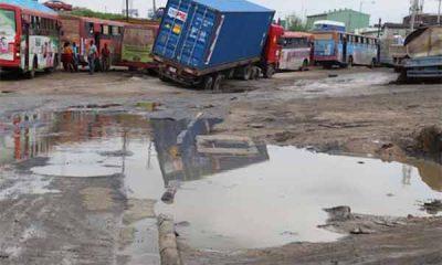 State Of Deplorable Tin Can, Apapa Ports Access Roads - autojosh