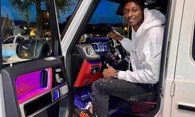 Nigerian Soccer Star Umar Sadiq Shows Off His Mercedes-Benz G-Class SUV - autojosh