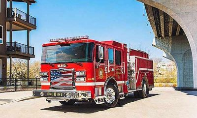 First Ever All-Electric Fire Truck In US Joins Wisconsin's Madison Fire Department - autojosh