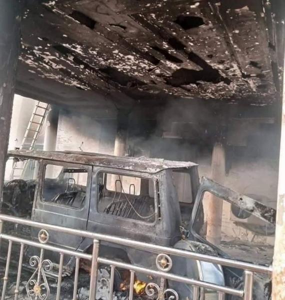 Arsonist Burns House, G-Wagon, BMW X6, Range Rover Sports, Belonging To Abia's Chief Ugba - autojosh