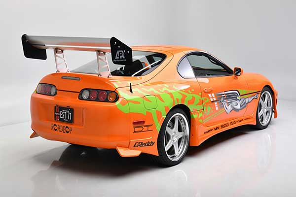 Late Paul Walker's 1994 Toyota Supra Already Auctioned For A Staggering ₦220m