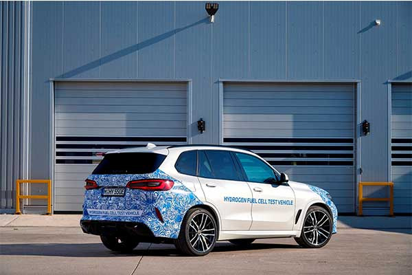 BMW Testing Hydrogen Powered X5 SUV With Launch Date Slated For 2022