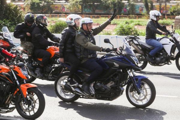 Brazilian President Bolsonaro Fined $110 For Not Wearing A Mask At Bikers Rally - autojosh