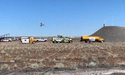 U.S Daredevil Alex Harvill Dies In Horror Motorbike Crash During 351ft World Record Jump Attempt - autojosh