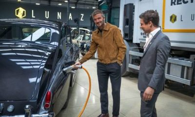 David Beckham Buys 10% Stake In Lunaz, EV Firm Known For Making Electric Rolls-Royce And Bentley -autojosh