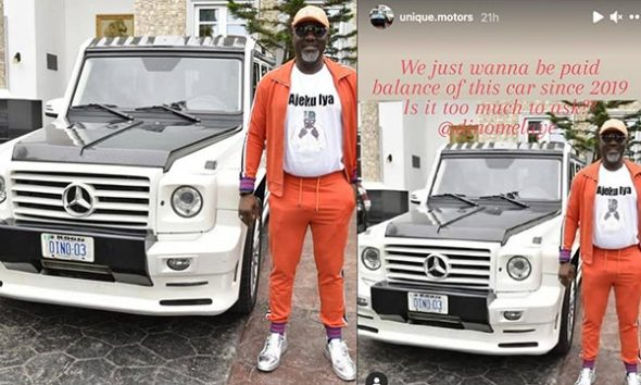 """''You Dial Trouble"""", Dino Melaye Reacts After Unique Motors Accused Him Of Buying G-Wagon On Credit - autojosh"""