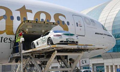 Dubai Police Flies Its Mercedes-Benz SLS AMG Supercar To Italy For Classic Car Race - autojosh