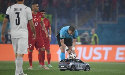 Euro 2020 Begins In Style After Matchball Was Delivered By VW Remote Controlled Car - autojosh
