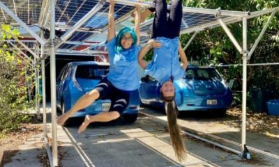 Florida College Student Gets Award For Creating Mobile Solar Carport - autojosh