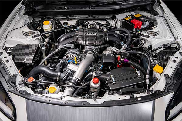 The 2022 Toyota GR 86 Teased With Supercharger Kit By HKS