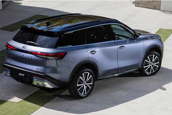 Infiniti Launches Production Version QX60 Crossover SUV That Seats 7 In Luxury