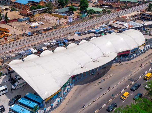 Lagos State Governor Sanwo-Olu Commissions Ultra-modern Yaba Bus Terminal - autojosh