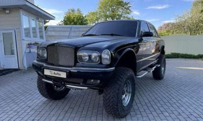 This Lifted Bentley Arnage 4x4 With Nissan Armada Chassis And Lexus V8 Is Up For Sale For ₦48.8M - autojosh