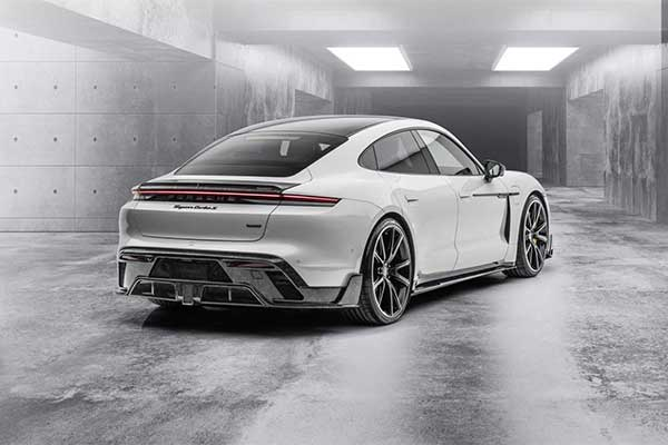 Mansory Slaps Its Kit On A Porsche Taycan And It Looks Mean