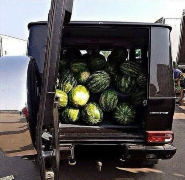 Mercedes G-Wagon SUVs Used For Selling Watermelons And Potatoes Attracts Massive Customers - autojosh