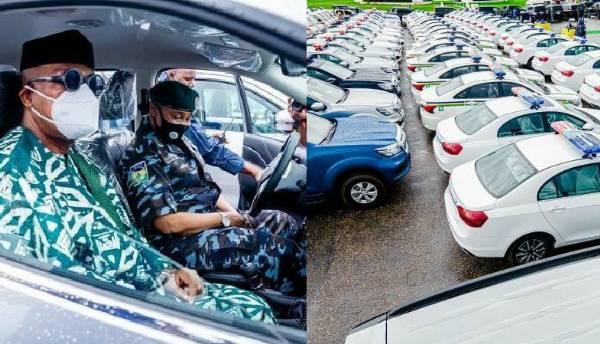 Gov Abiodun Hands Over 55 Vehicles, Bulletproof Vests, Helmets To IGP To Secure Ogun - autojosh