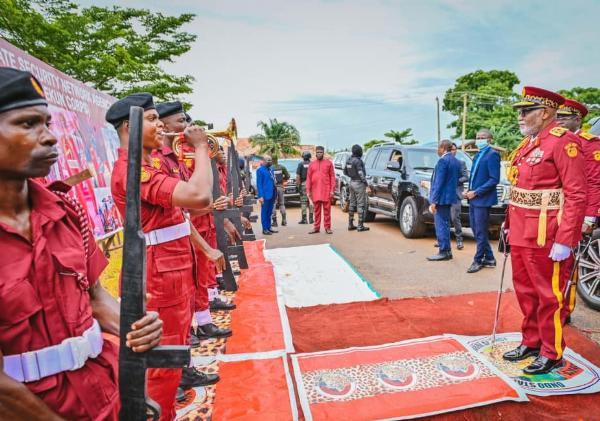 Ondo Governor Akeredolu Commissions 20 Patrol Vehicles To Boost Amotekun Operations - autojosh