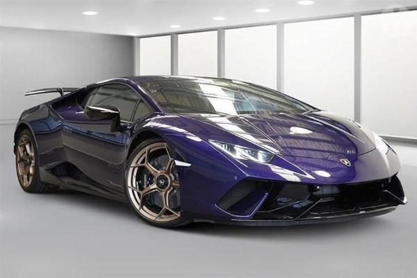 Police To Auction Off Reckless Driver's Lamborghini Huracan Cos Of Driving Offenses - autojosh