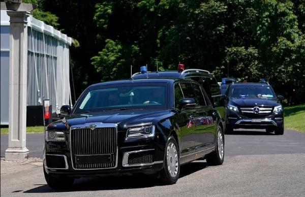 Biden's Cadillac 'Beasts' And Putin's Aurus 'Bunker' Turns Head As The Two Leaders Meet For The First Time - autojosh