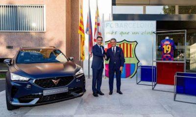 Seat Cupra Formentor SUV, Barcelona FC Official Car, Check Out Messi's, Stegen's New Ride - autojosh