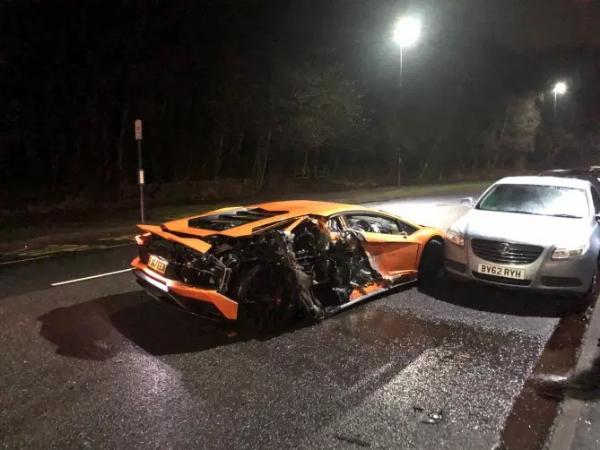 Sheffield United's Mousset Fined N2.9M & Banned For 6-months After Crashing Lamborghini Into Parked Cars - autojosh