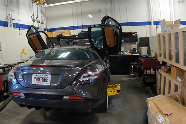 Mercedes-Benz SLR Owned By Paris Hilton Cost More Than $34,000 (₦10m)To Service