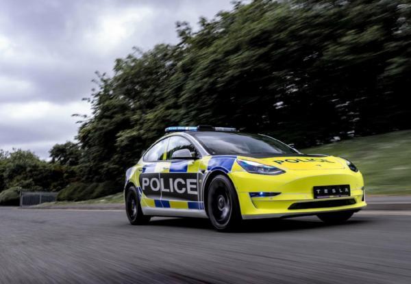 UK Trials Electric Tesla Model 3 Police Car Ahead Of Sales Ban On New Petrol/Diesel Motors From 2030 - autojosh