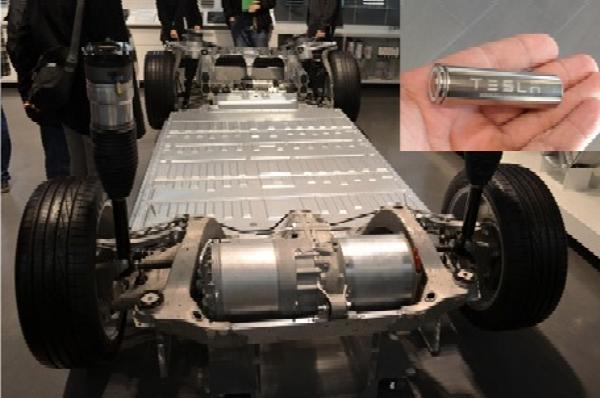 Inside Tesla Battery Parks Which Houses Thousands Of Panasonic Laptop-like Batteries - autojosh