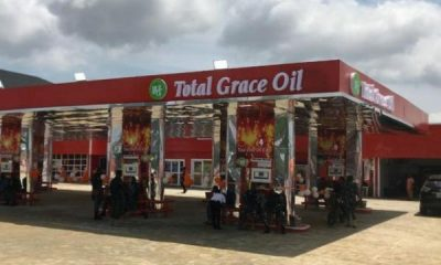 Total Grace Oil & Gas Opens Filling Station With Electric Car Charging Point In Lekki, First In Nigeria - autojosh