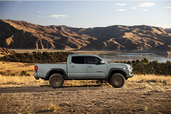 Toyota Upgrades The Tacoma Pickup TRD Pro And Trail Edition For 2022 Model Year