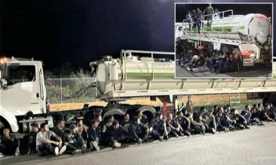 U.S Border Patrol Discover More 160 Undocumented Immigrants Stuffed Inside Tanker, Trailer - autojosh