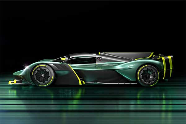 Aston Martin Unleashes A 1000Hp Valkyrie AMR Pro Track Only Hyper Car
