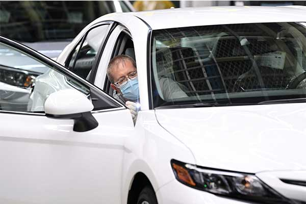 Toyota Kentucky Plant Rolls Out its 10 Millionth Camry In America