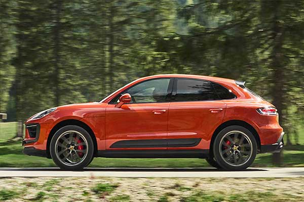 Porsche Refreshes Its Entry Level Macan SUV For 2022 With More Power
