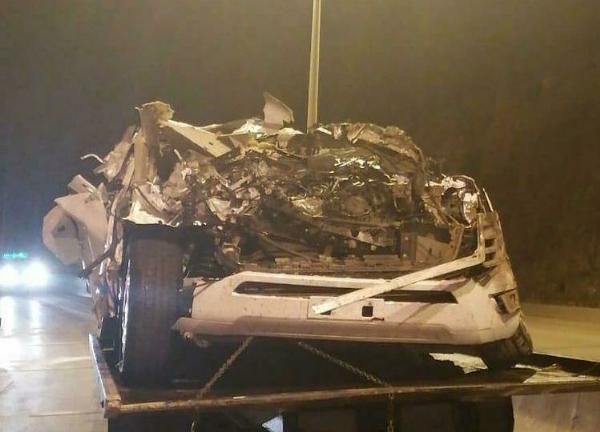 Several Brand New 2022 Toyota Land Cruiser 300 Smashed During Car-carrier Rollover In Oman - autojosh