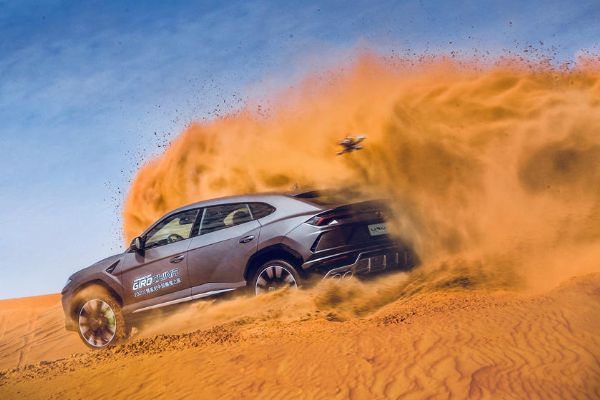 42 Lamborghini Customers Enjoy 500-Mile Desert Adventure Across Northwestern China - autojosh