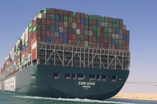 At last, Ever Given Ship Gets Clearance To Depart Suez Canal (PHOTOS)
