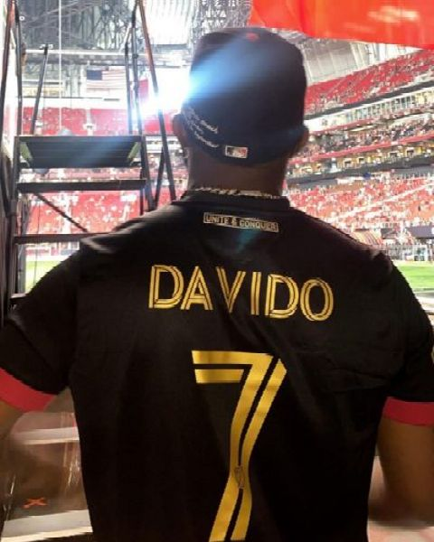 Davido Arrives At Mercedes-Benz Stadium In Atlanta In His ₦350m Rolls-Royce Cullinan - autojosh