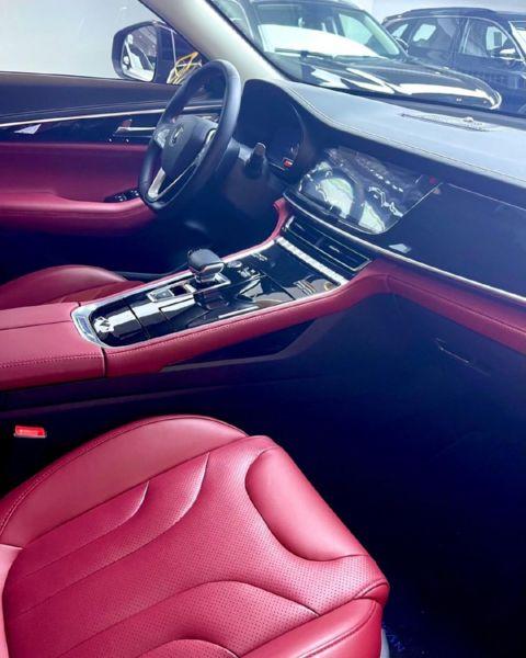Digital Ogbanje And Spiritualist Angela Nwosu Gets Changan CS85 SUV As Push Gift From Husband - autojosh