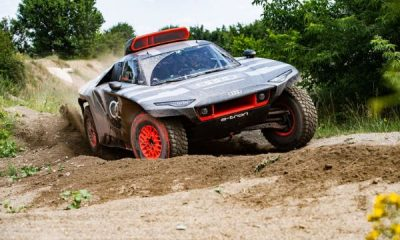 Audi Plans To Win Dakar Rally Race In 2022 With This New Electric RS Q E-Tron Offroading Truck - autojosh
